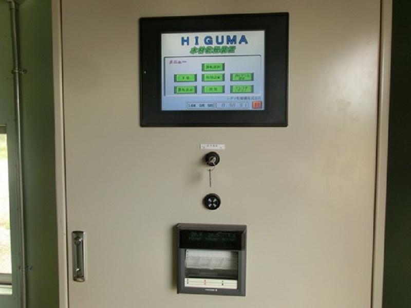 タッチパネル式操作盤